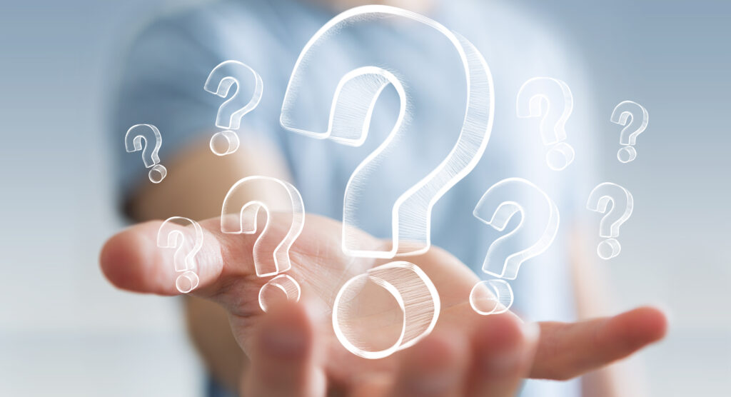 質問に関する大きな勘違い